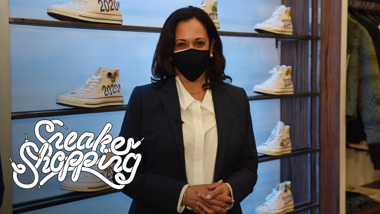 VP-Elect Kamala Harris Goes Sneaker Shopping With Complex