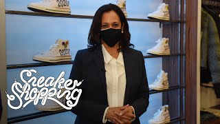 Senator Kamala Harris Goes Sneaker Shopping With Complex