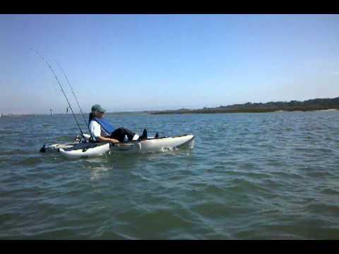 Hobie pedal drive fishing kayaks hilton head island sc for Pedal drive fishing kayak