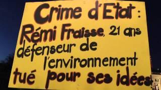 DU TESTET A GENEVE LA POLICE ASSASSINE RÉMI NI OUBLI NI PARDON(Salut CamaradEs Mathieu Burnel – Réagit à la mort de Rémi Fraisse #CSOJ 31/10/2014 pour justifier un crime il suffit de dire que c'est le black bloc ..., 2014-11-01T07:59:30.000Z)