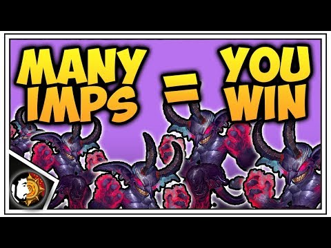 Hearthstone: Many Imps = You Win - Discard Warlock - Rise Of Shadows