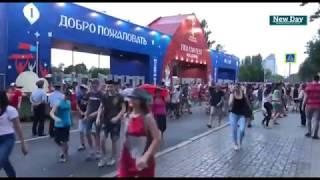 Победа России над Испанией: Волгоград ликует со всей страной