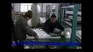 automatic disposable ps foam fast food container production line/EPS Processing machine
