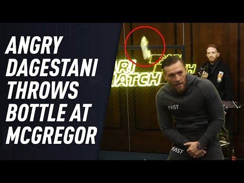 Dagestani man confronts McGregor after scandalous Moscow presser