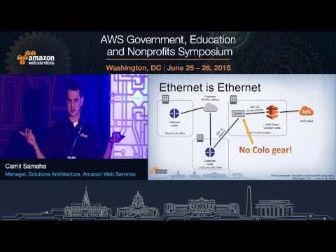 AWS Symposium - Washington, DC   AWS Direct Connect