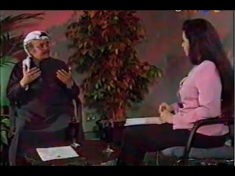 الفنان الكبير طلال مداح - رحمه الله - في لقاء نادر من آخر لقاءاته مع الإعلامية نشوة الرويني