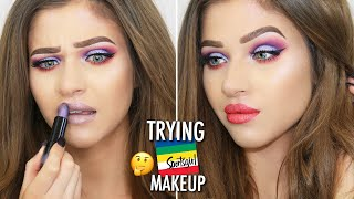 Trying & Testing SPORTSGIRL MAKEUP AGAIN! Review / First Impressions Chatty Makeup Tutorial