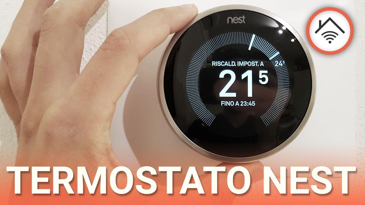 Schema Collegamento Termostato Nest : Termostato nest recensione in italiano youtube
