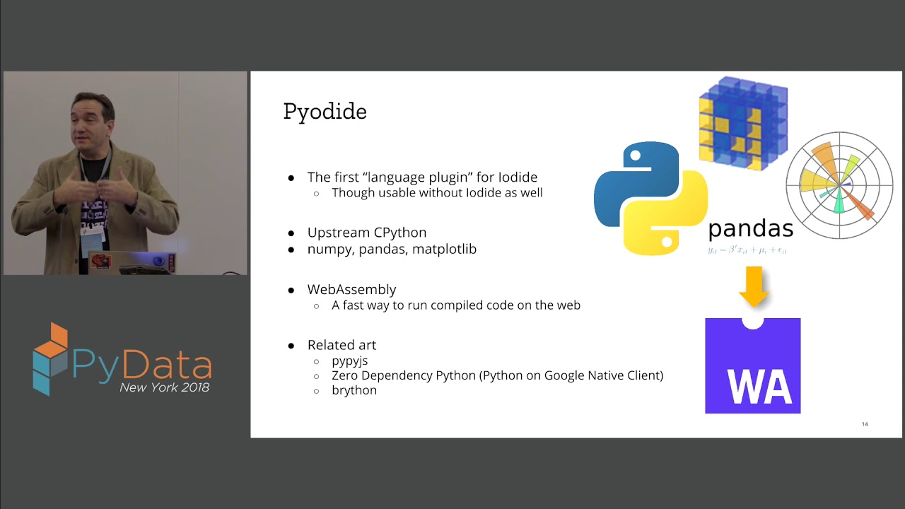 Image from Iodide and Pyodide: Bringing Data Science Computation to the Web Browser - Michael Droettboom