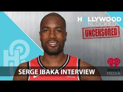 Serge Ibaka Talks Homelessness, Keri Hilson & What He's Hiding In His Grey Sweats