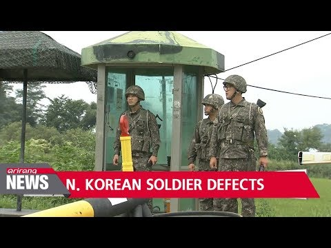 North Korean soldier defects to South Korea across border... gets shot on the way