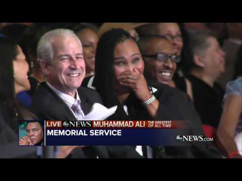 Muhammad Ali Funeral   Billy Crystal...