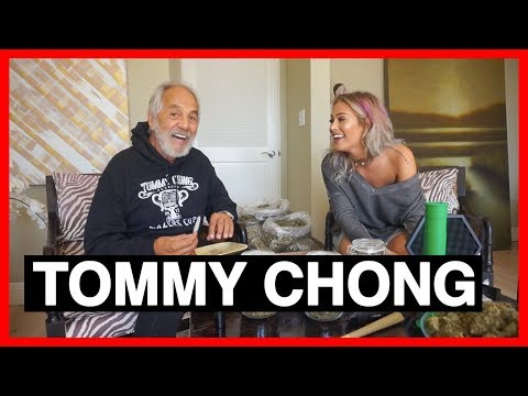 JOINT ROLLING RACE AND INTERVIEW W/ TOMMY CHONG