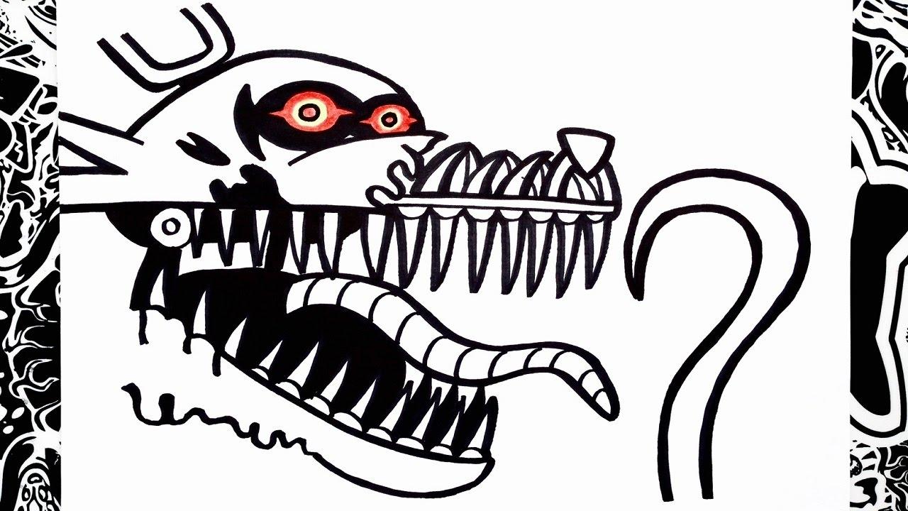 Como Dibujar A Nightmare Foxy De Five Nights At Freddy S How To Draw Foxy Nightmare
