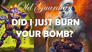 Nomi Tempo Rogue taking on Bomb Warrior (Hearthstone Rise of Shadows gameplay)