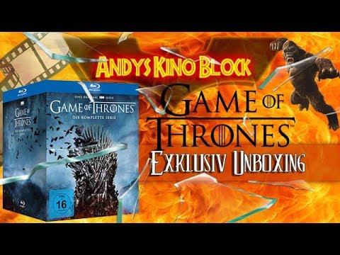 Game Of Thrones: Die Komplette Serie Staffel 1-8 Im Digipack Blu-ray Unboxing
