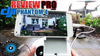 Dji phantom 4 pro besser als die dji mavic? review - test [deutsch/german]
