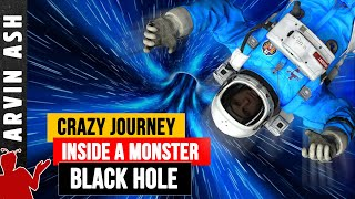 What is Inside a Black Hole? Beyond the Event Horizon: Another Universe?
