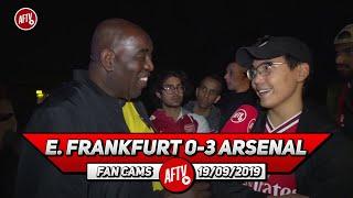 E. Frankfurt 0-3 Arsenal | Martinez Is An Amazing Second Keeper!