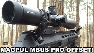Magpul MBUS Pro Offset Backup Sights!