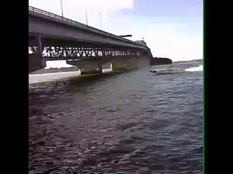 Offshore power boat