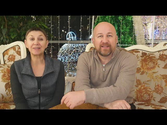 ✨Новогоднее поздравление 2020✨. Сергей Ратнер и Марина Каганович