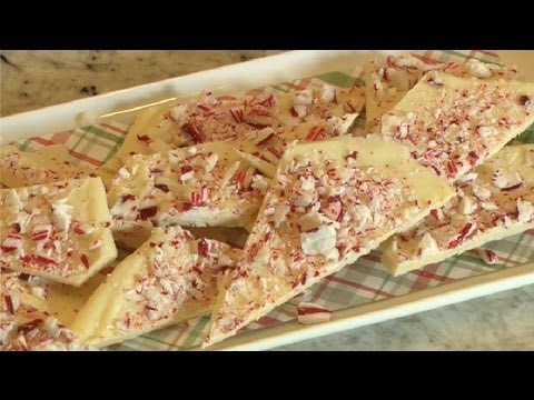 How To Make Peppermint Bark With White Chocolate : Baking Techniques
