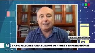 $ 4 500 MILLONES PARA SUELDOS DE PYMES Y EMPRENDEDORES