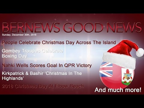 "Bernews ""Good News"" Sunday Spotlight, December 30, 2018"