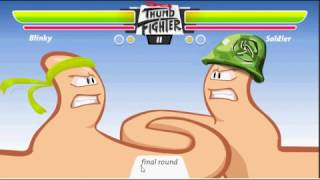 Thumb-Fighter Ramdon-Mi primo case rompe La mesa