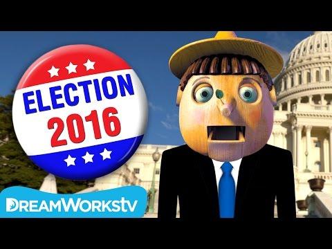 Real Boy Runs For President #Pinocchio2016