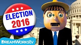 Real Boy Runs For President #Pinocchio2016