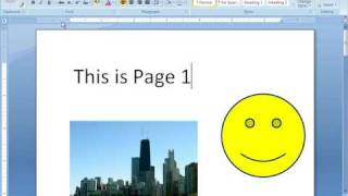 Word 2007 Tutorial 1 - Getting Started - 60 Day Free Download
