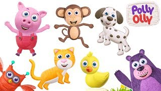 Learn about Animals and Counting | Polly Olly Nursery Rhymes