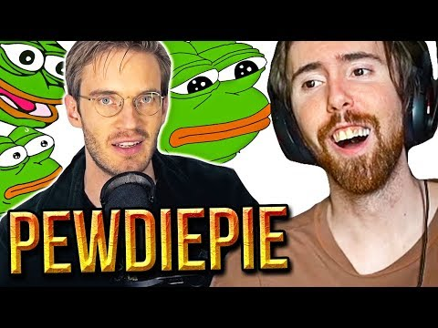 """Asmongold Reacts To """"The BROFIST is declared a HATE SYMBOL"""" - PewDiePie"""