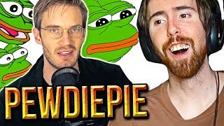 "Asmongold Reacts To ""The BROFIST is declared a HATE SYMBOL"" - PewDiePie"