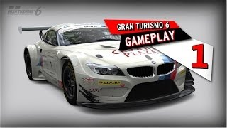Gran Turismo 6 - PS3 - Gameplay #1 [PT BR]