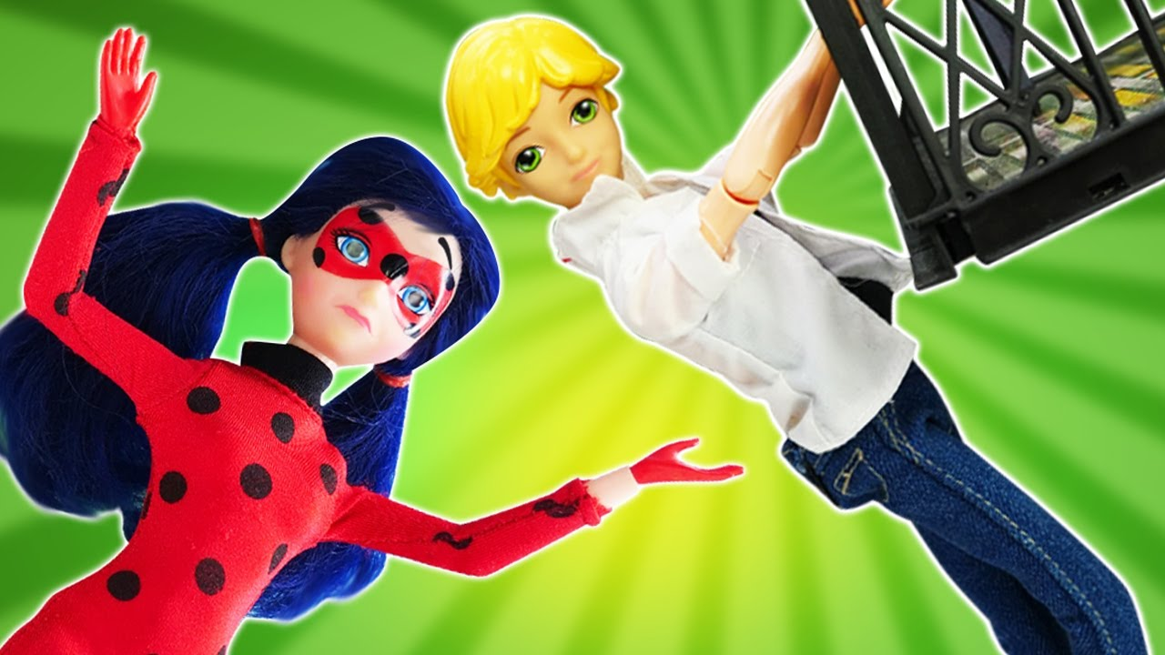 Побег Адриана из дома - Челси забрала игрушки кукол ЛОЛ - Сборник видео про куклы Леди Баг