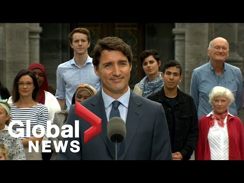 Canada Election: Justin Trudeau formally kicks off his campaign | FULL