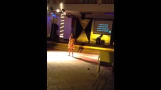 Grace in a Jamaican Karaoke Contest