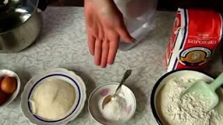 Здобне дріжджове тісто опарним способом
