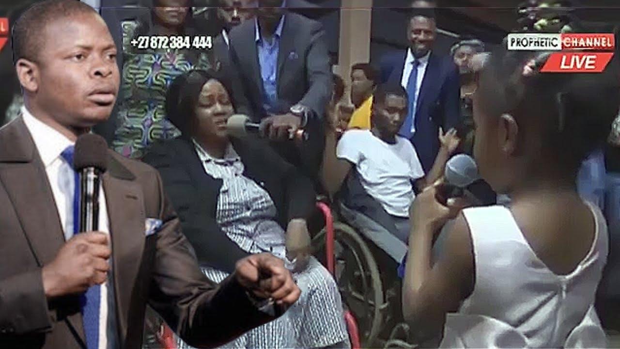 Download Prophet Bushiri Daughter Israella Heal Sick Man