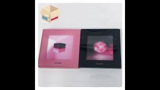 1theK Unboxing(원덕후의 언박싱): BLACKPINK(블랙핑크) _ 1st Mini Album 'SQUARE UP'