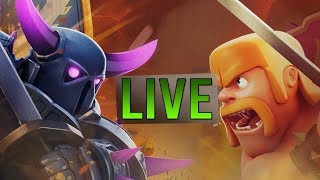 🔴 let's visit  you're base way to 1.8k subscribe LIVE || Clash Of Clans ||Coc ||Live Stream 2018