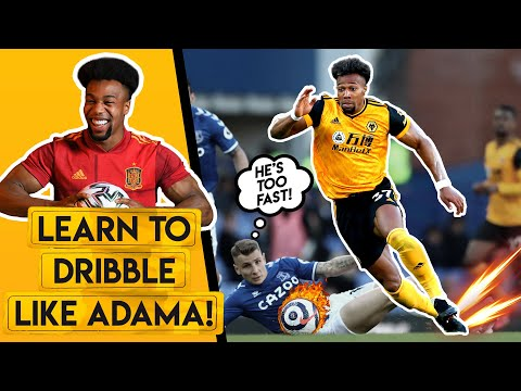 LEARN TO DRIBBLE LIKE ADAMA TRAORE! | The skills and training drills you need ft. EABskills