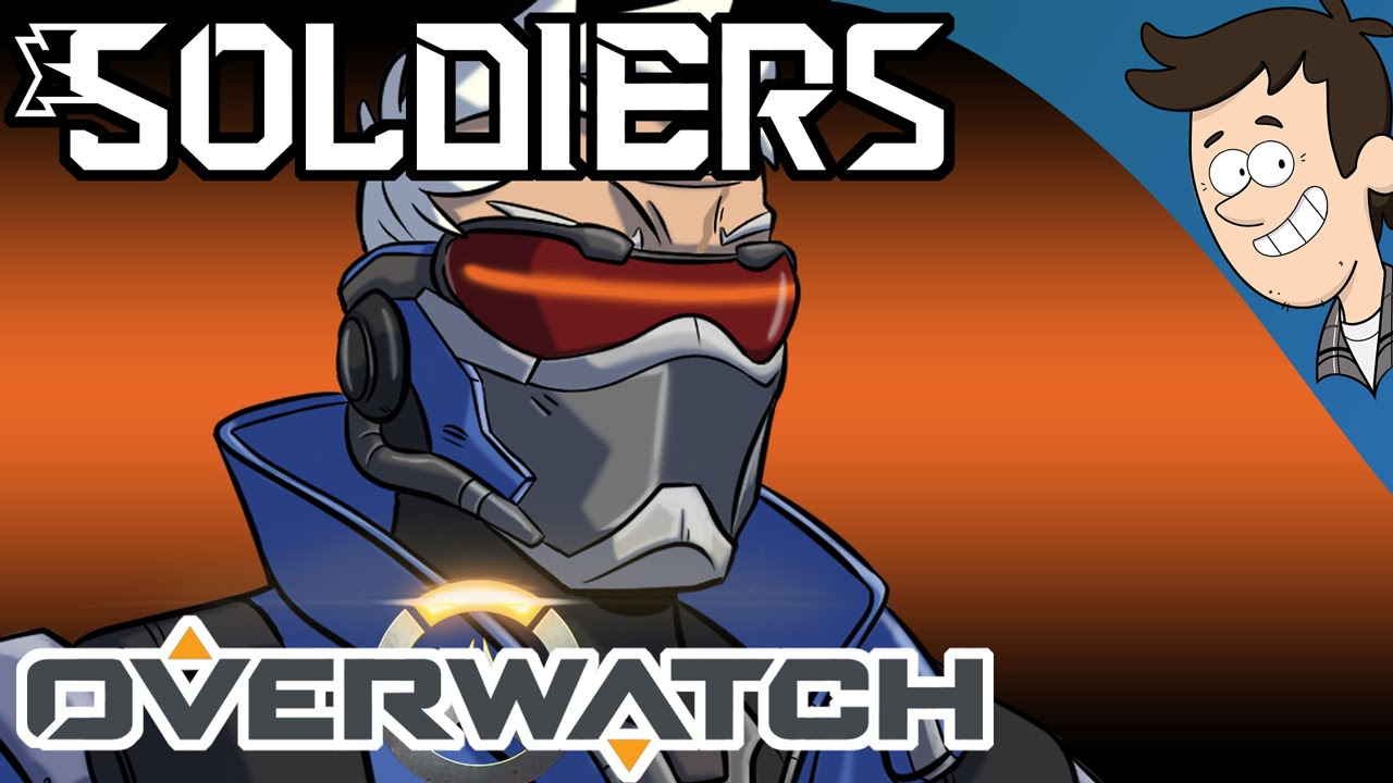 8b3968157 Soldiers ▻ OVERWATCH (SOLDIER 76) SONG by MandoPony - YouTube