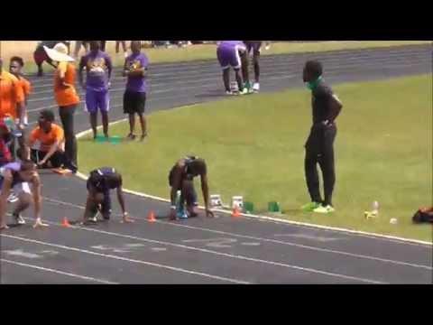 Usain Bolt At Max Velocity Track Meet
