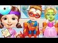 Sweet Baby Girl Superhero Hospital Care Kids Game - Fun Superhero Princess Fairy Care Makeover Fun