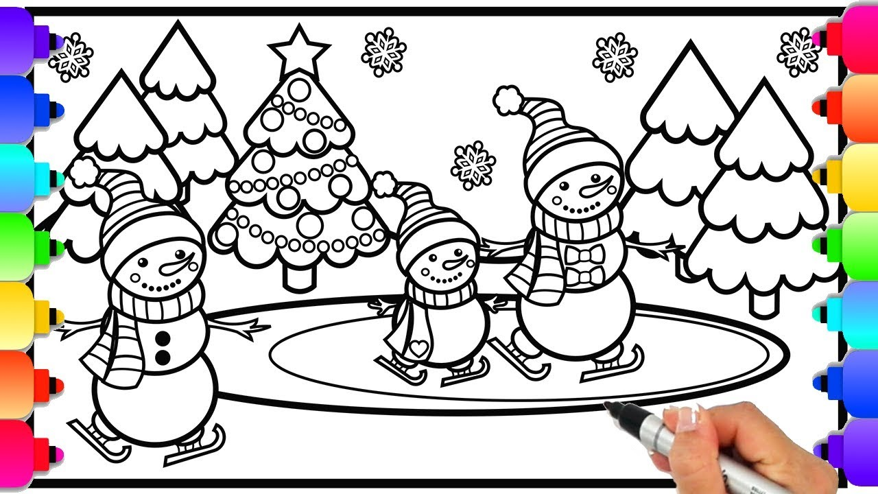 ▷ Frosty the Snowman: Coloring Pages & Books - 100% FREE and ... | 720x1280
