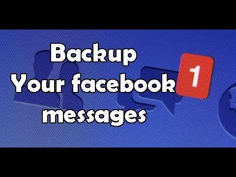 Recover deleted facebook messenger messages on pc